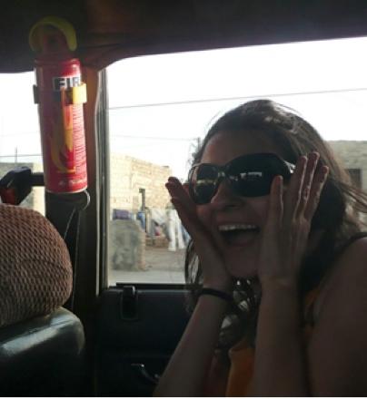 Pánico taxi africano