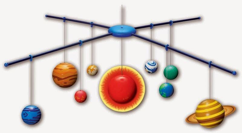 модель солнечной системы для детей