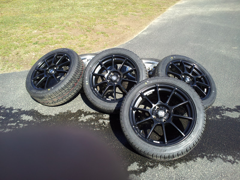 for sale 17x7 sparco assetto gara wheels in matte black w. Black Bedroom Furniture Sets. Home Design Ideas