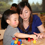 At LePort Schools Parent & Child Montessori, moms help children do it themselves.