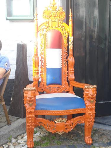 Thorn Porta arancione imbottita della bandiera olandese
