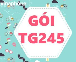 Gói TG245 Vinaphone có 2700 Phút Gọi, 200 SMS, 10GB Data