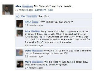 funny twilight facebook status