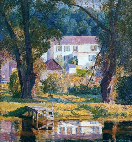 Daniel Garber - Landing at Bloomsbury
