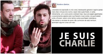Charlie Hebdo: comentário polémico de Gustavo Santos suscita resposta de comediantes