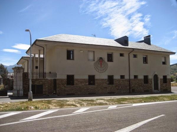 Menos peregrinos en el albergue de Ponferrada