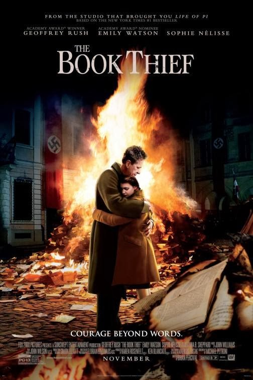 Screen Shot Of Hollywood Movie The Book Thief (2013) Download And Watch Online Free at Alldownloads4u.Com
