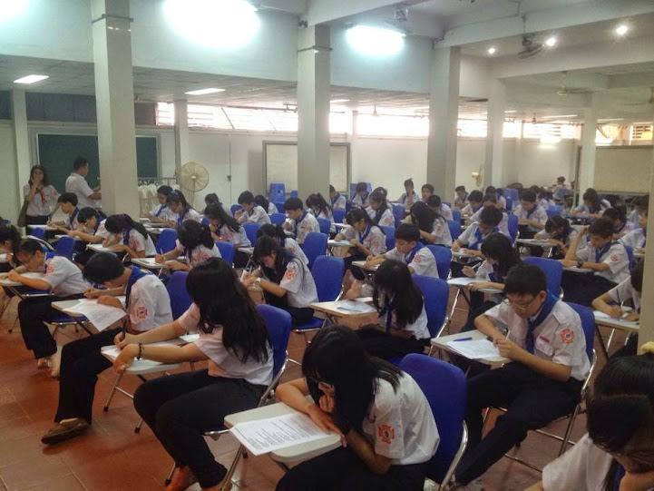 Thiếu nhi thi học kì 2