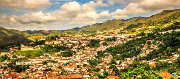 Férias em Ouro Preto, Minas Gerais, Brasil