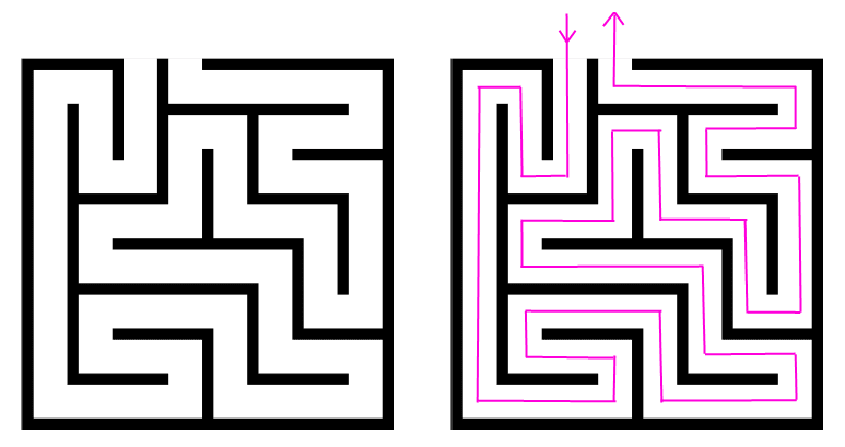 Image result for unicursal maze