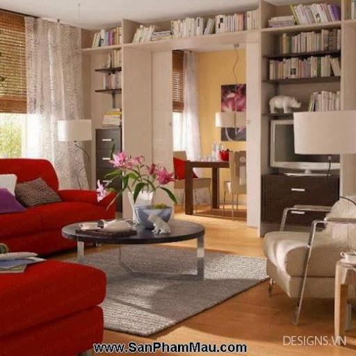 Các mẫu thiết kế nội thất phòng đọc sách P1-2