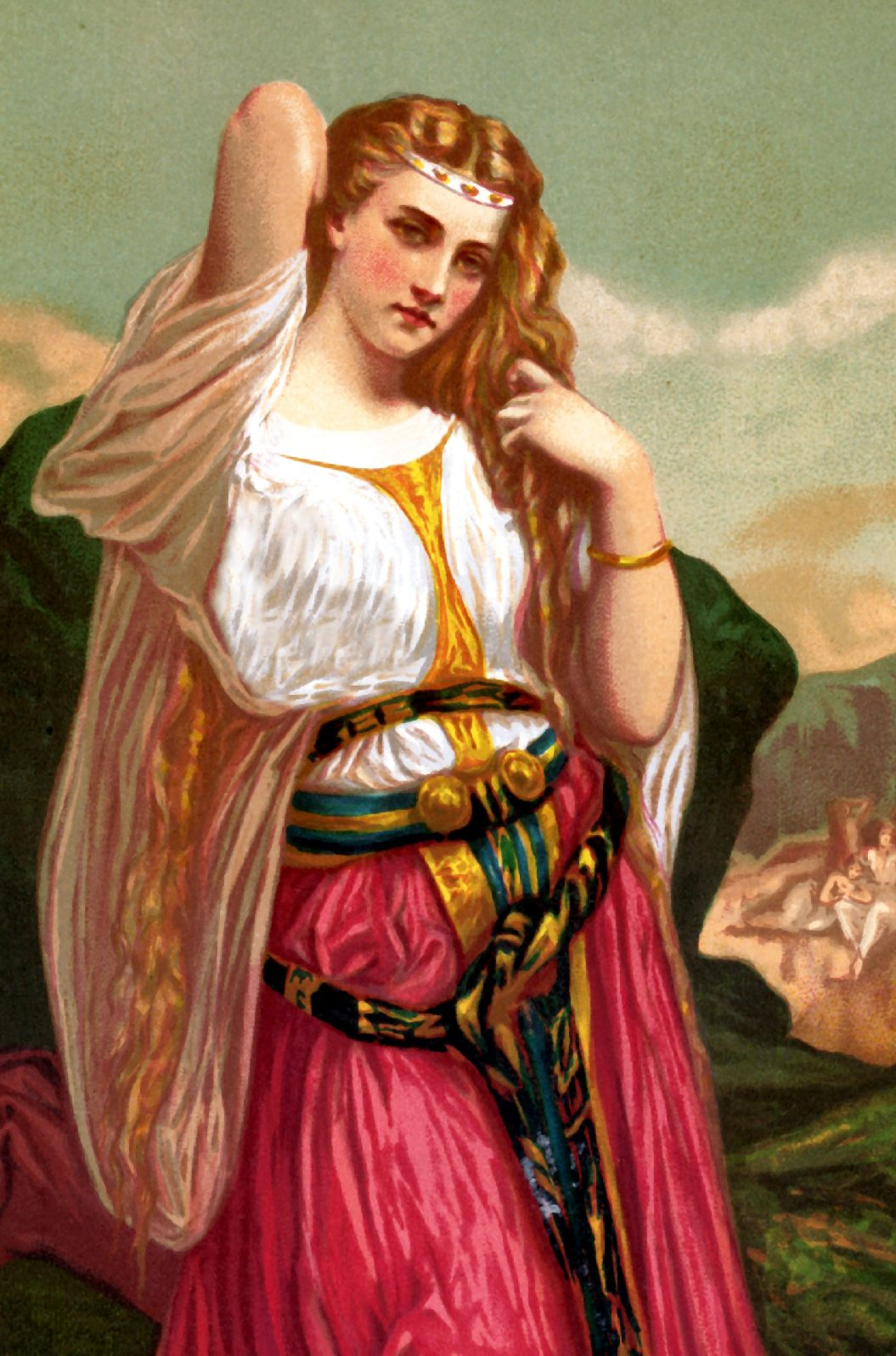 Bible Stories Samson and Delilah | Bible Vector - 10 Full ...