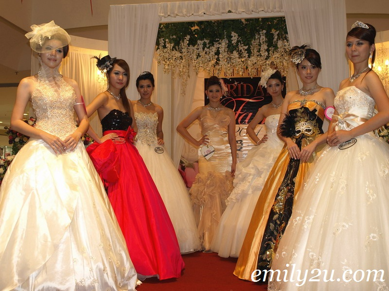 Bridal Evening Gown Fashion Show @ Bridal Fair 2011