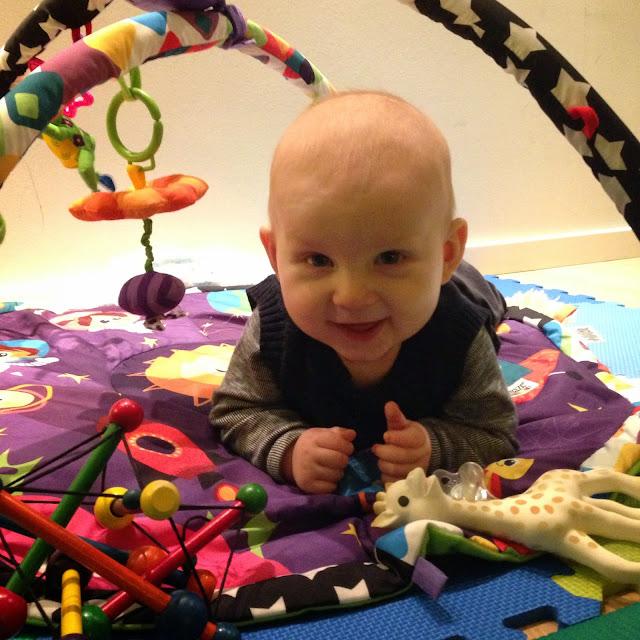 Buus og Babys: Felix 5 måneder