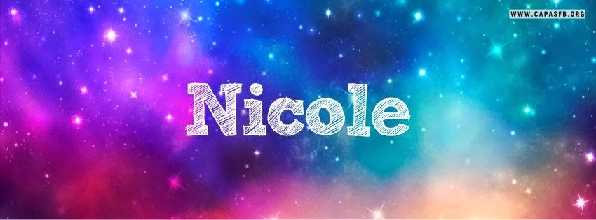 Capas para Facebook Nicole