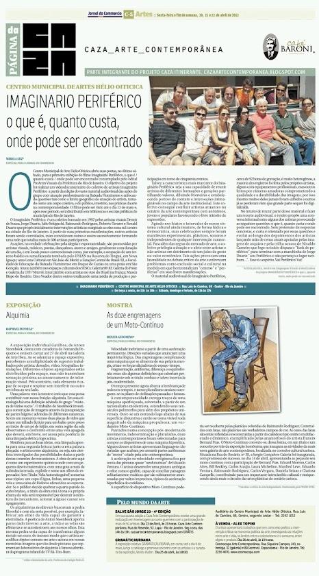 Página da Caza - 20 de Abril de 2012