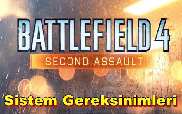 Battlefield 4: Second Assault PC Sistem Gereksinimleri