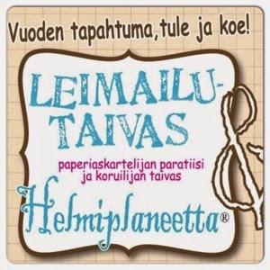 Leimailutaivas ja Helmiplaneetta® Hiekkaharjussa, Vantaalla 12.9.2015