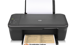 Download and install HP Deskjet 1056 - J410a printing device installer