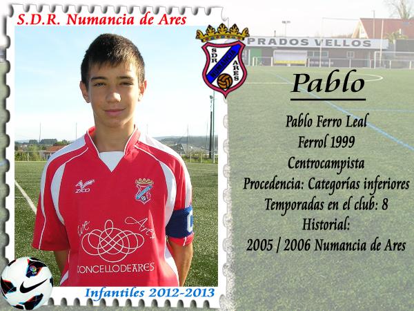 ADR Numancia de Ares. Pablo Ferro.