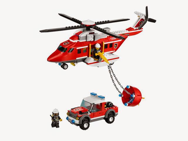 7206 レゴ シティ 消防ヘリコプター