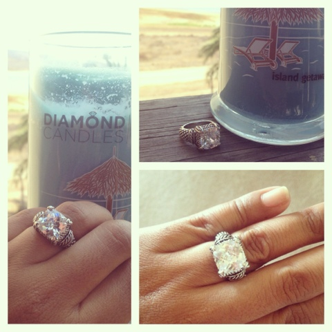 Diamond Candle ring reveal