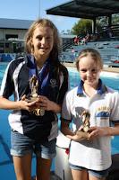 Intermediate Sprints Emma Barwick, Olivia Wormwell