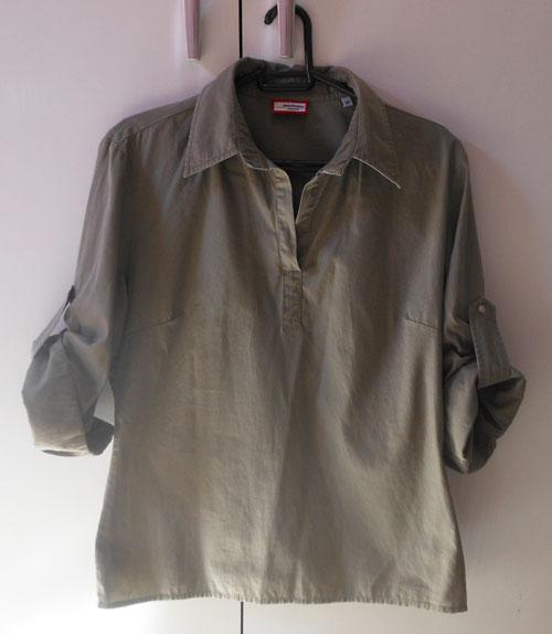 camisa com tachinhas