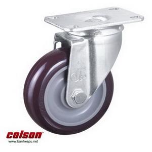 Bánh xe đẩy hàng PU 100 chịu tải trọng 122kg | S2-4256-95P