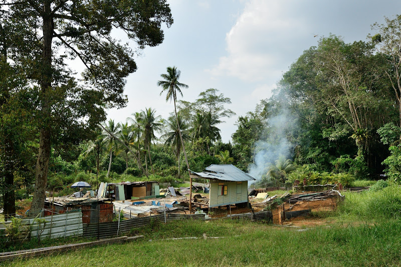 kampung house destroyed