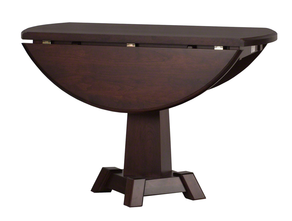 Round turin drop leaf table erik organic