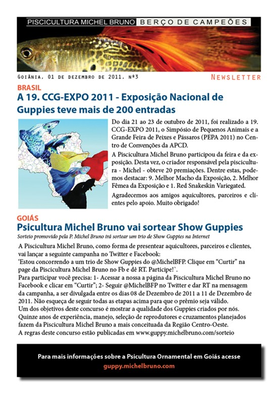 Psicultura Michel Bruno - Newsletter
