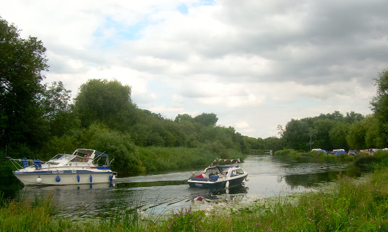 River traffic at St Neots