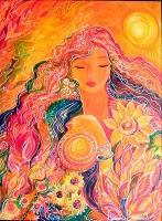 Goddess Goga Image