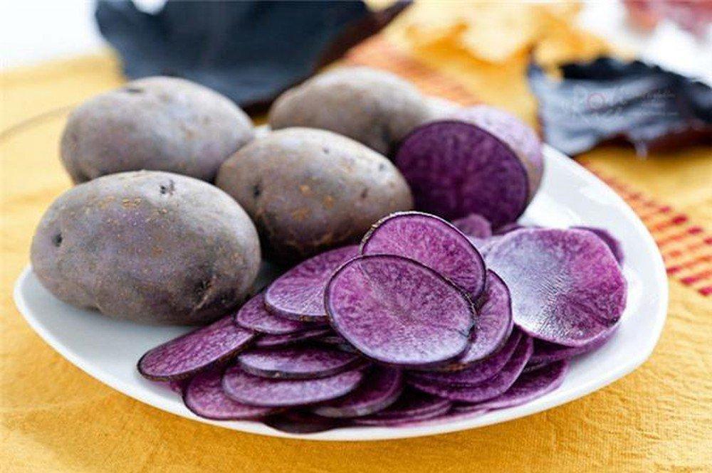 khoai tây tím