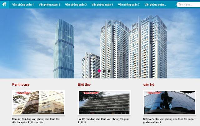 template blogspot bất động sản Responsive chuẩn seo