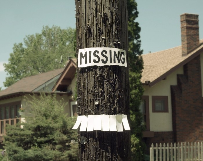 Missing Poster Is Missing