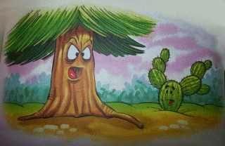 El abeto y el espino