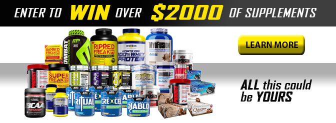 Massive Supplement Giveaway