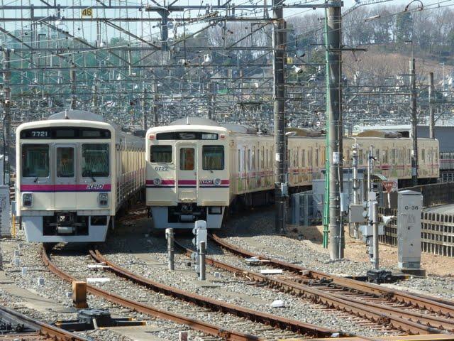 京王電鉄 6000系廃車回送 6022編成 6022F