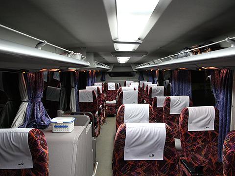 北海道中央バス「スターライト釧路号」 2445 車内