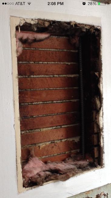 Help! Asbestos or Horse hair in walls? (HEPA filter
