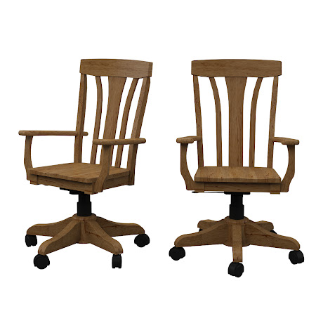 Marseille Office Chair in Classical Maple