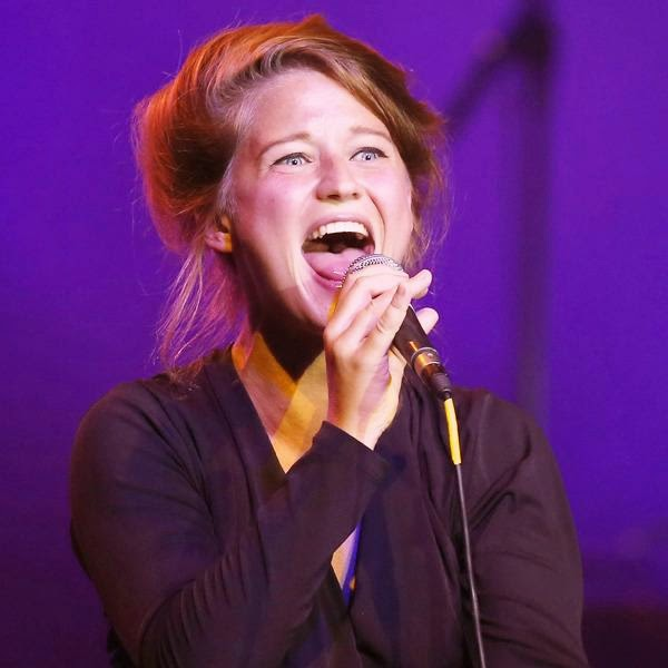 Belgium singer Selah Sue performs on stage during the Monte Carlo Summer Festival on July 23, 2014 in Monaco.