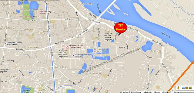T&T Riverside - Sở hữu căn hộ cách Hồ Gươm 4km với giá từ 18. 7 Tr/ m2
