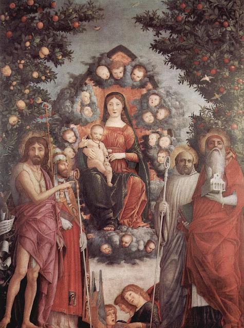 Andrea Mantegna - Pala Trivulzio