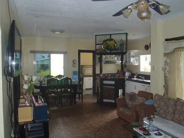 Dipolog house and lost forsale - open plan living area