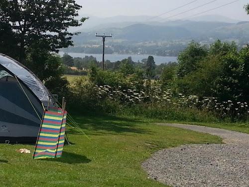 Camping  at Hillcroft Caravan Park