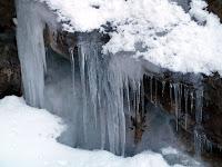 Carámbanos de hielo