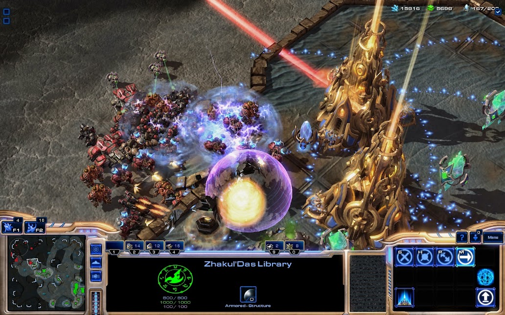 Starcraft 2 Hero map